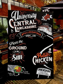KFC Pulled Chicken Tour UCLAN