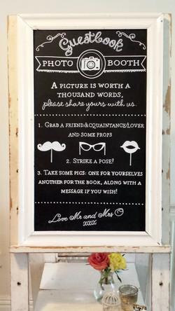 Laura & Matt Wedding Chalk Art