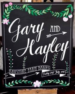 Hayley & Gary Wedding