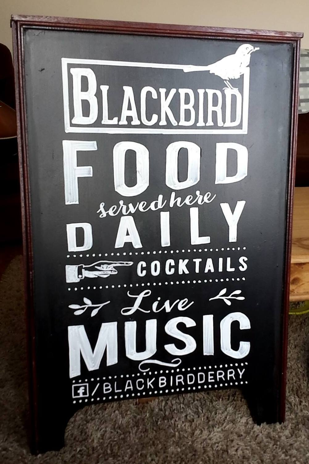 Blackbird, Derry