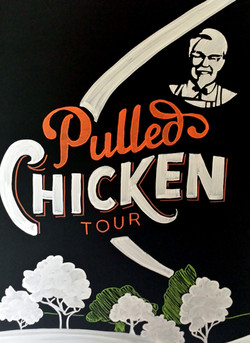 KFC Pulled Chicken Tour
