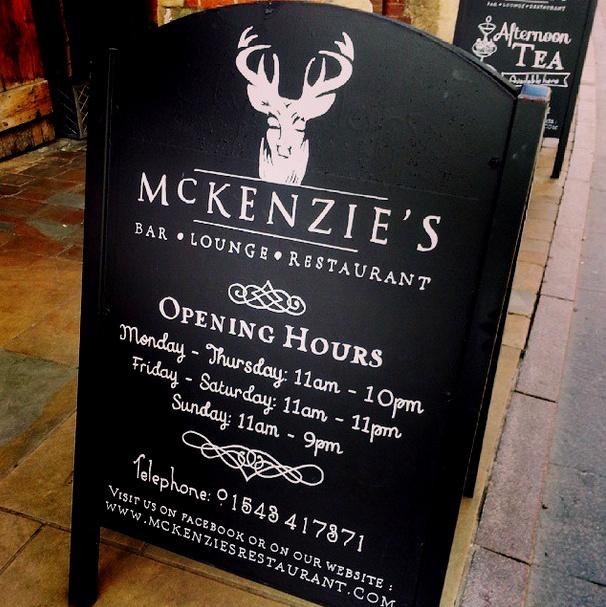 McKenzie's, Lichfield
