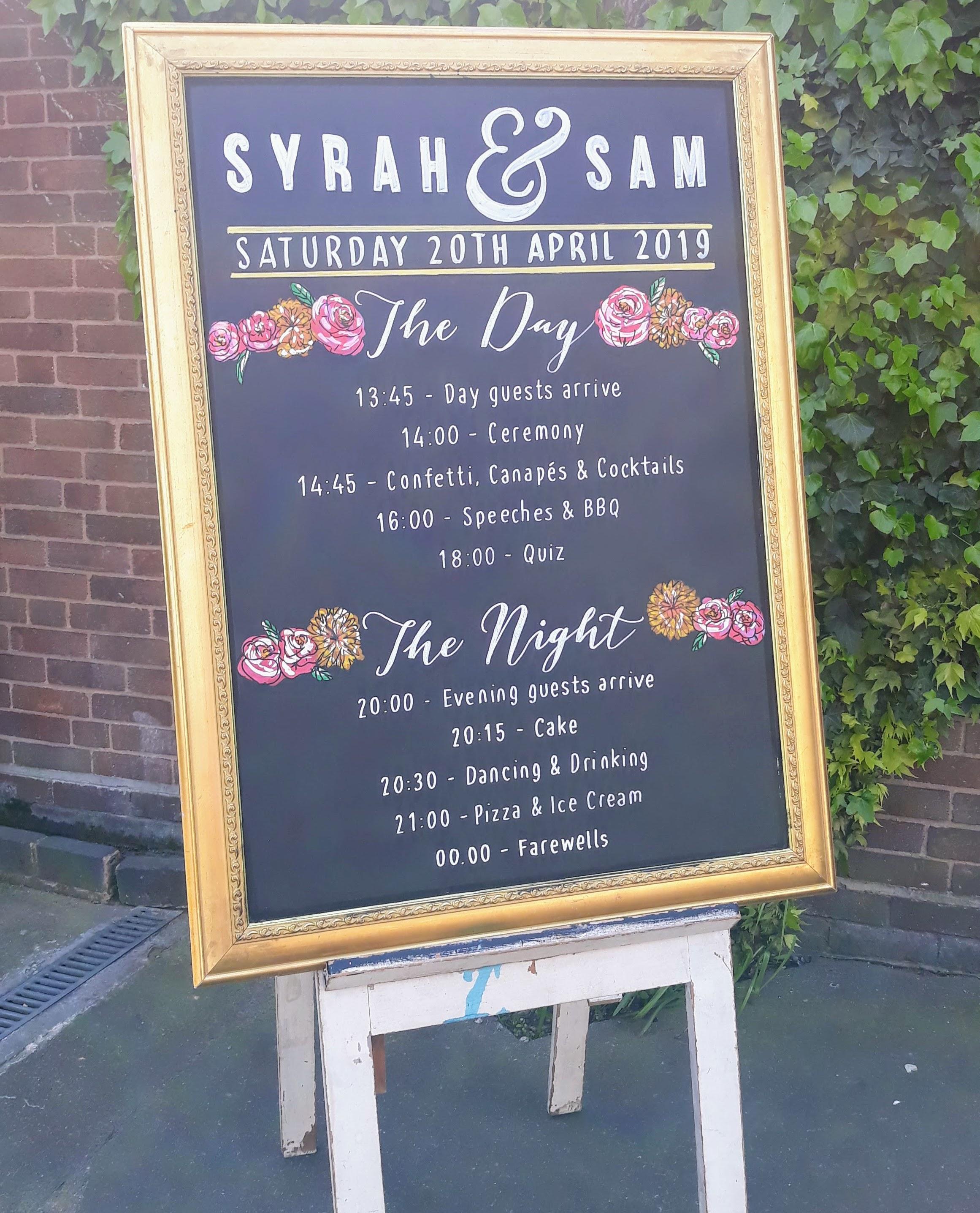 Syrah & Sam