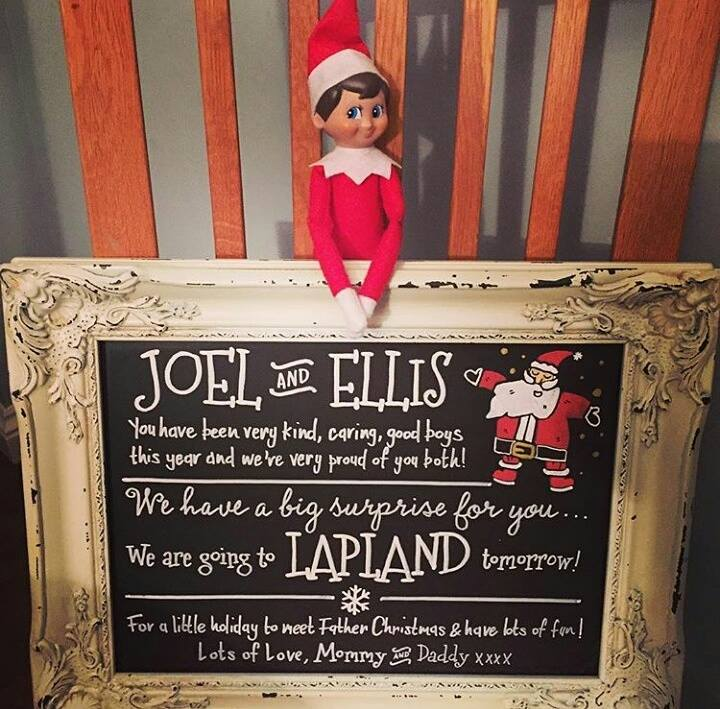 Elf on the Shelf Announcement