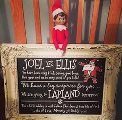Elf on the Shelf Announcement