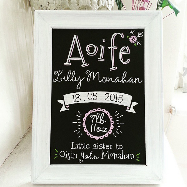Aoife Lilly Monahan Gift Chalk Art