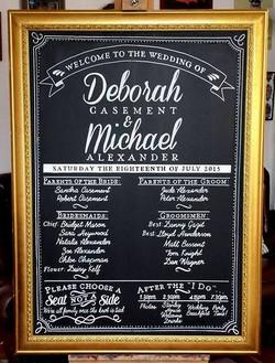 Deborah & Michael Wedding