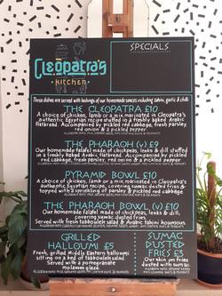 Cleopatra's Kitchen, Birmingham