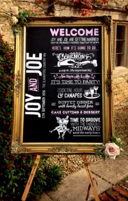 Joy & Joe Wedding