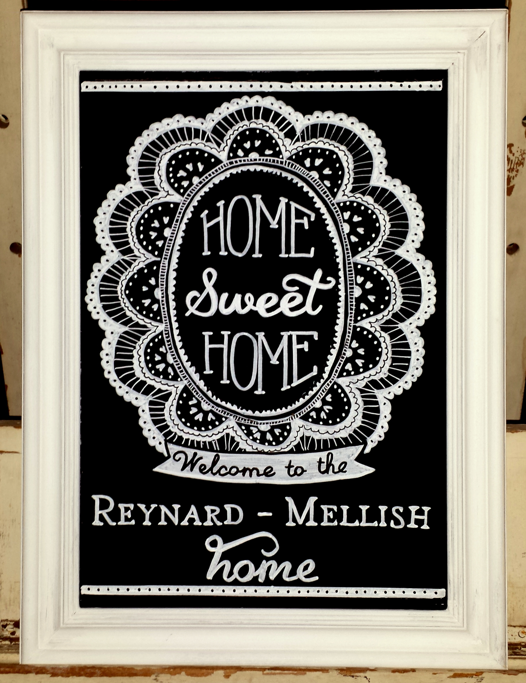 Reynard-Mellish Gift Chalk Art
