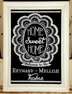 Reynard-Mellish Gift Chalk Art