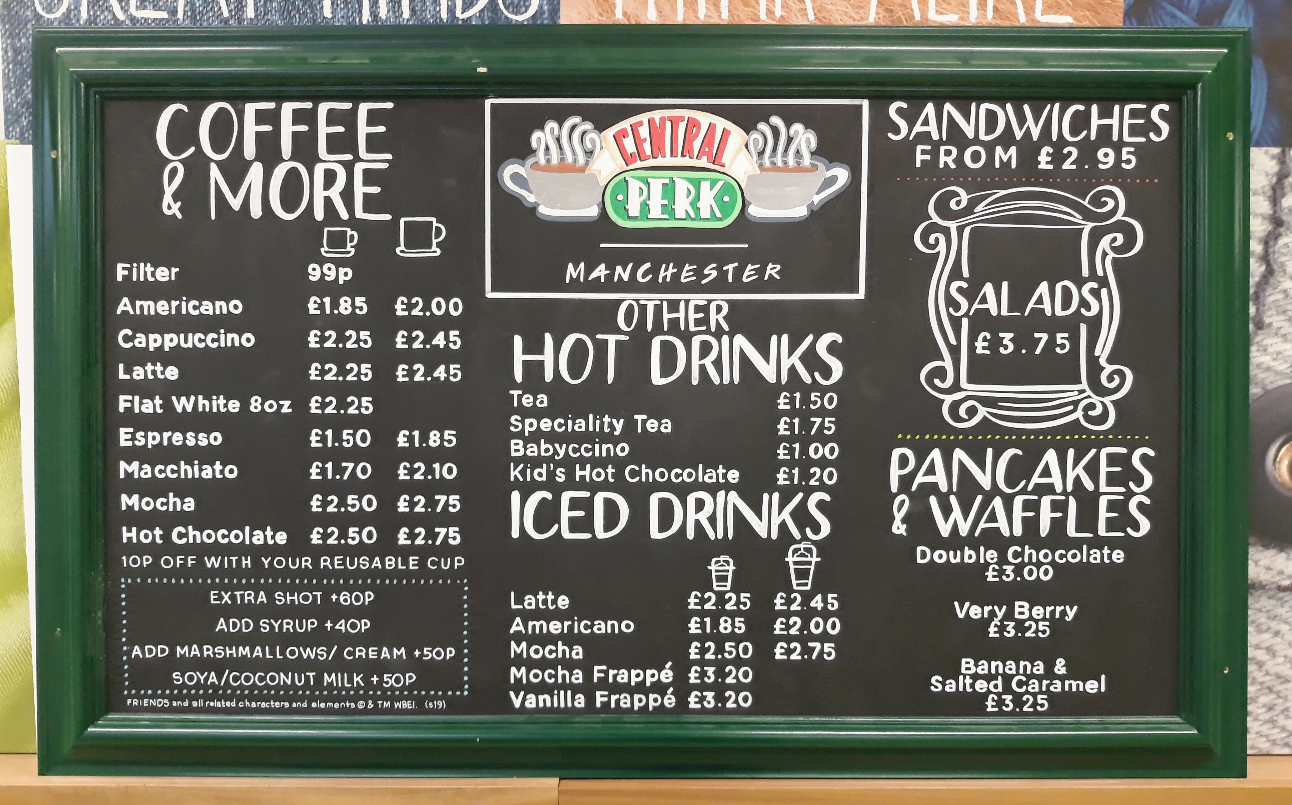 Central Perk, Manchester