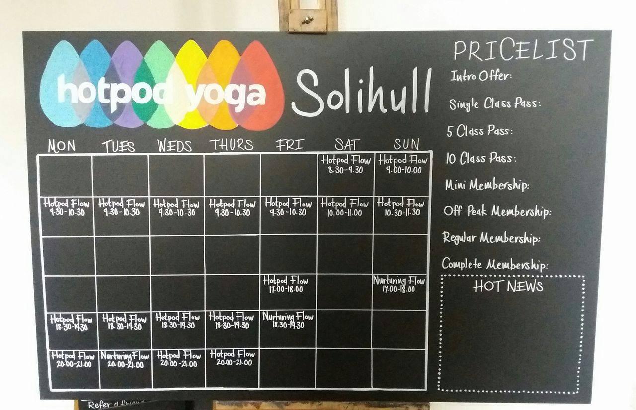 Hotpod Yoga, Solihull