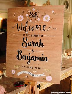 Sarah & Benjamin Wedding