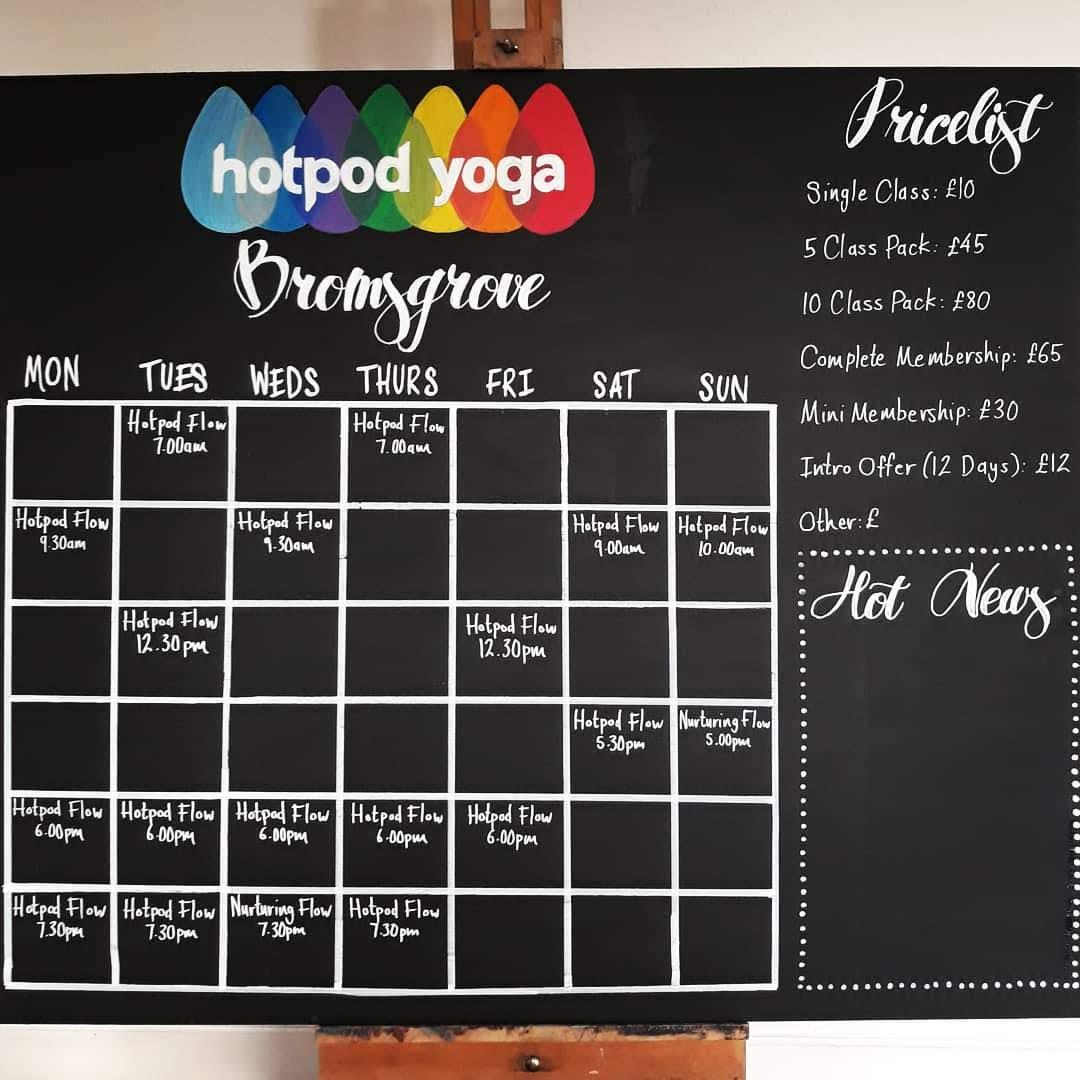 Hotpod Yoga, Bromsgrove