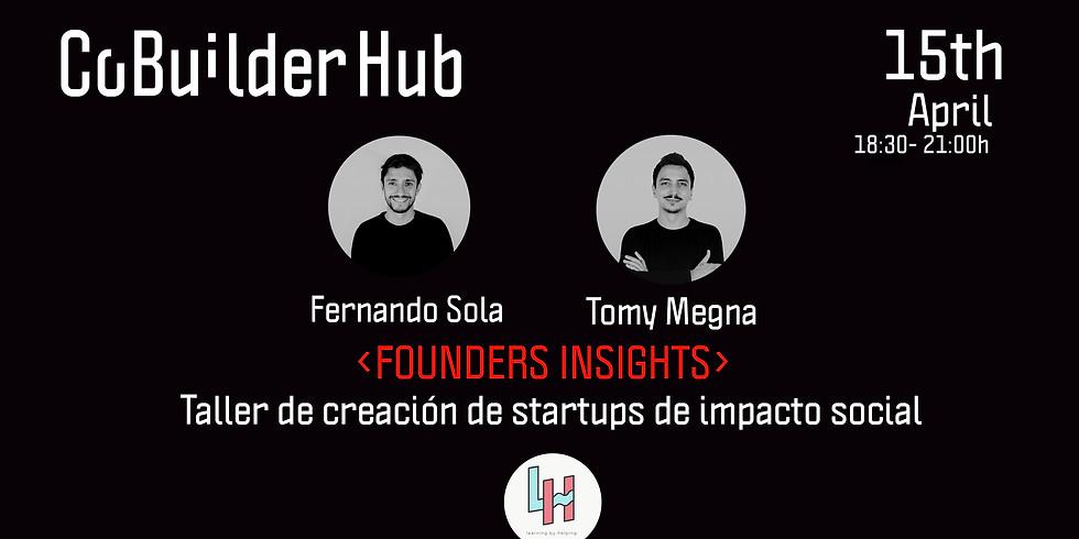 Taller de creación de startups de impacto social
