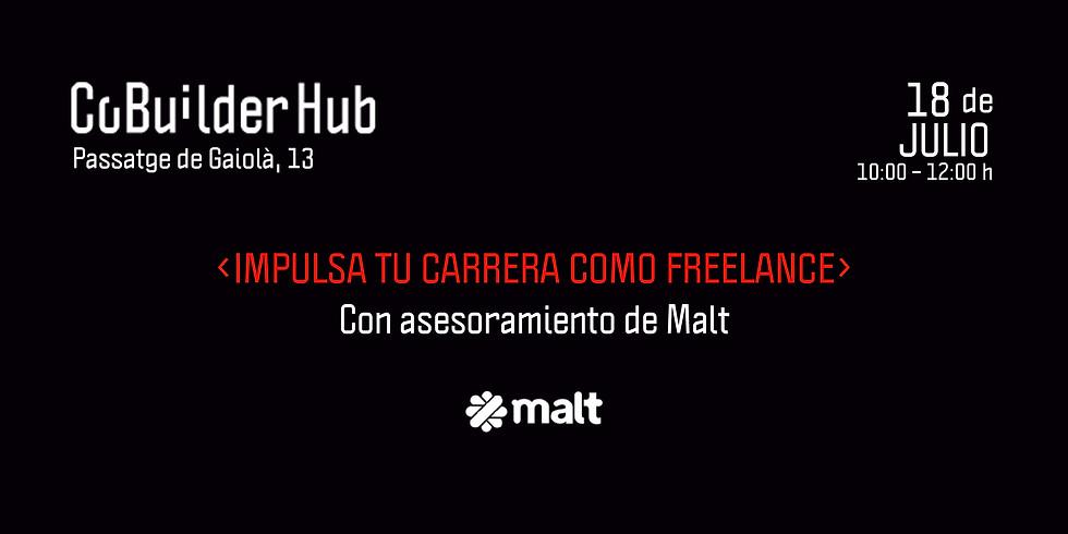 Impulsa tu carrera como freelance con Malt