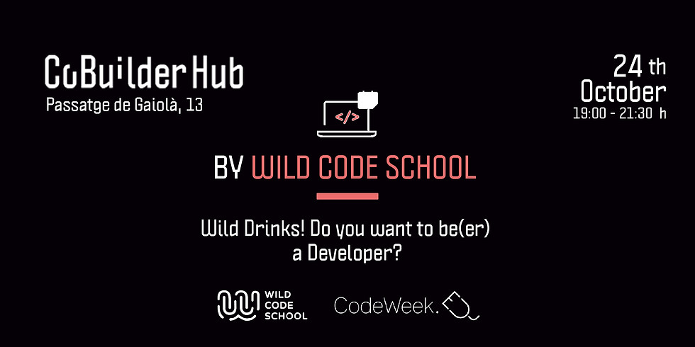 Wild Drinks! Do you want to be(er) a Developer?