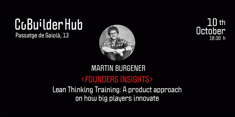Lean Thinking Training: A product approach on how big players innovate