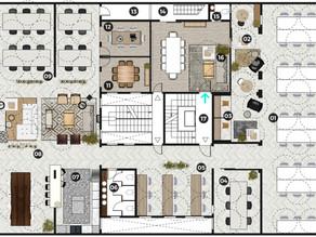 Oficina Híbrida bajo el sistema de hotelling
