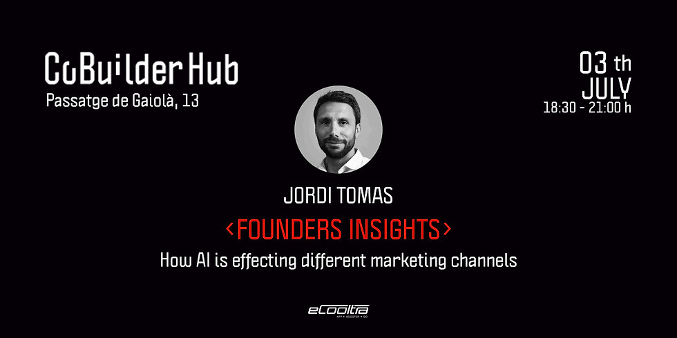 Founders Insights: How AI is effecting different marketing channels