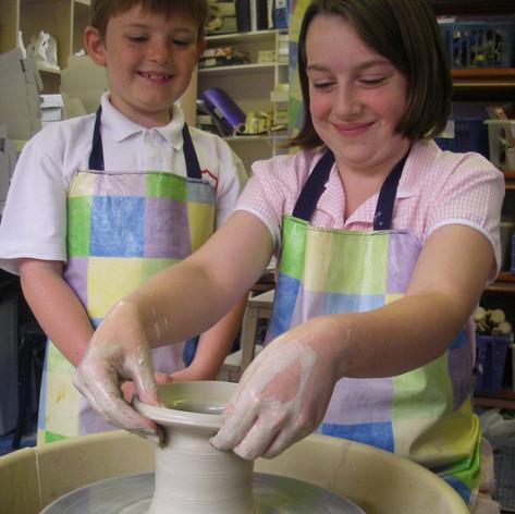 Kids Potter's Wheel