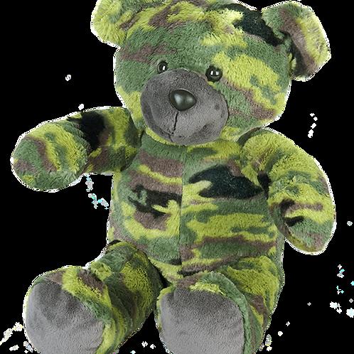 """G.I Camo Bear 16"""""""