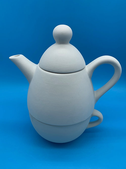 Tea for One Teapot and Cup
