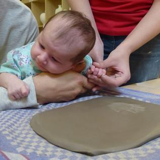 Baby Hand Print