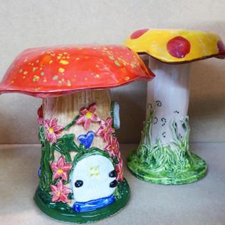 Patio Mushrooms