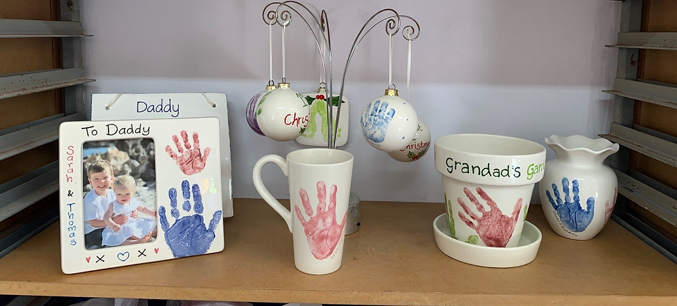 Hand and Foot Print Gifts