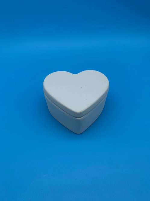 Large Heart Trinket Box