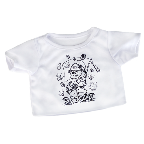 Colour your own Pirate T-shirt