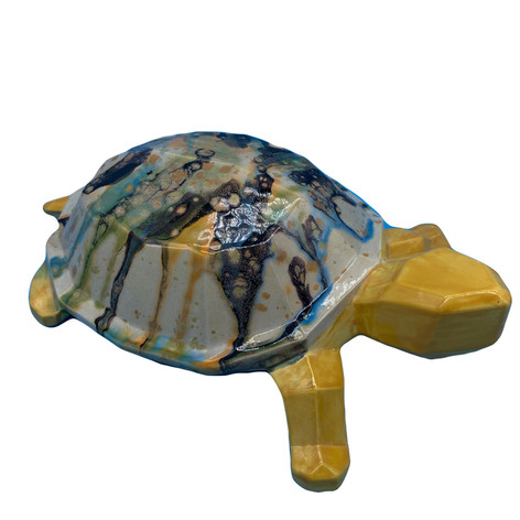 Faceted Turtle Pottery