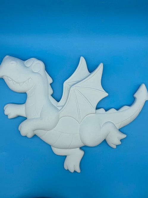 Dragon Plaque - 3D