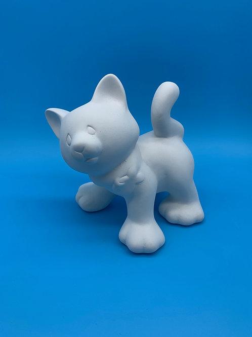 Standing Cat Figurine
