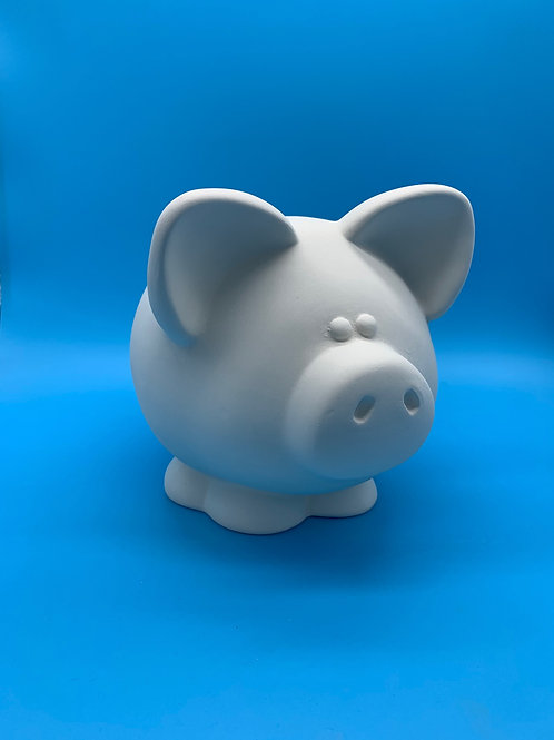 Large Pig Money Bank Foam Clay Kit