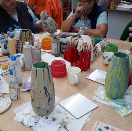 Special Glazes on Vases