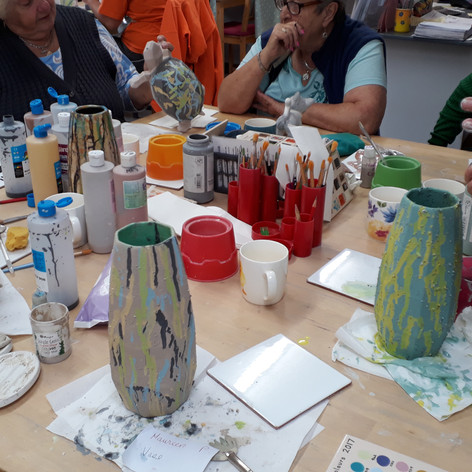 Special Glazes on Vases