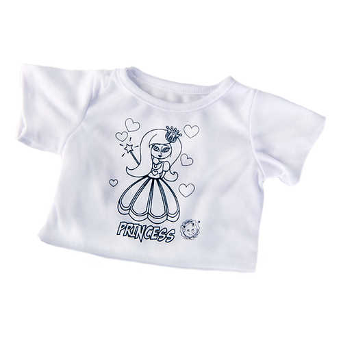 Colour your own Princess T-shirt