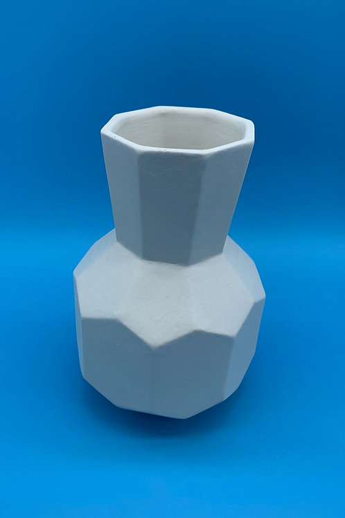 Small Faceted Vase