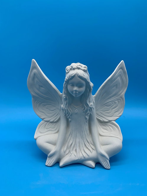 Large Sitting Lotus Fairy