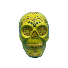 Sugar Skull Pottery Painting