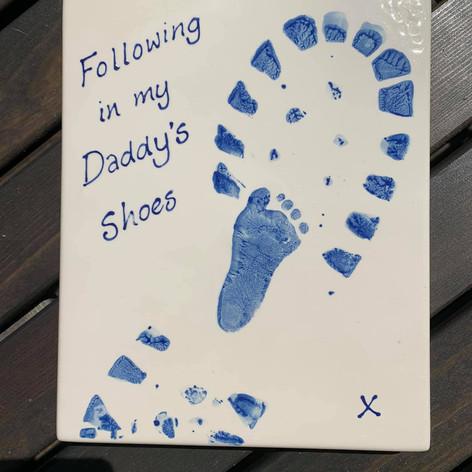 Daddy's Footprint