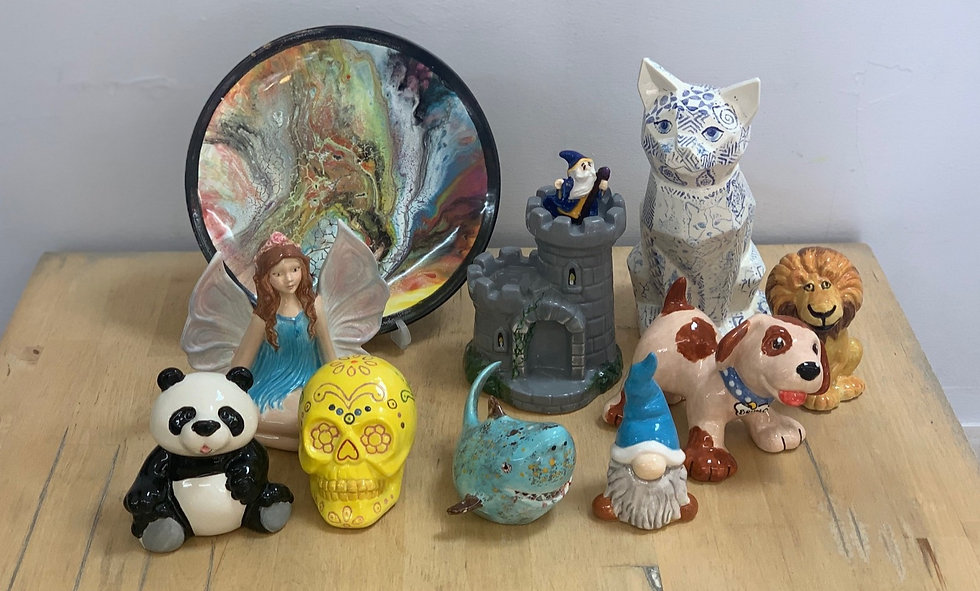 Pottery painting for all
