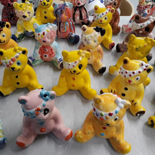 Pudsy bear paint-a-thon