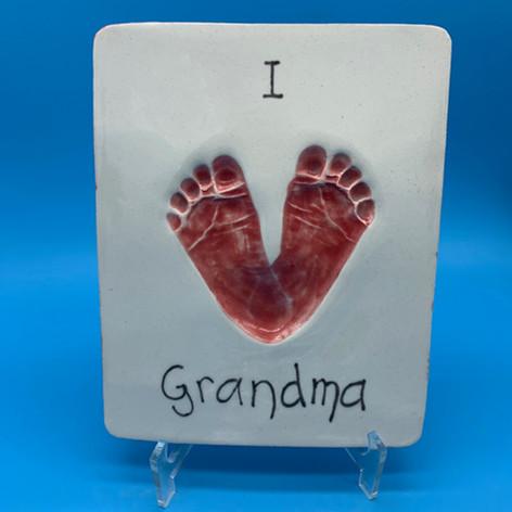 Love Grandma lasting Impressions