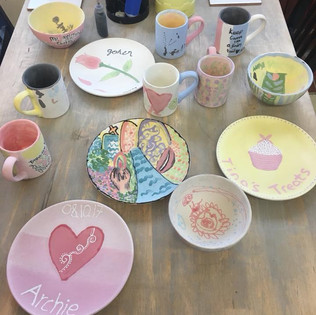 School Pottery Painting