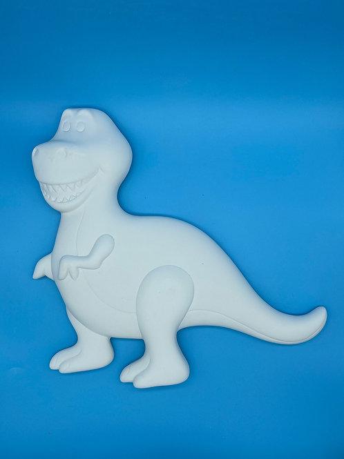 Dinosaur Plaque - 3D