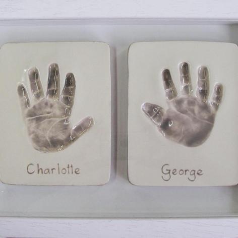 Two Hands Framed